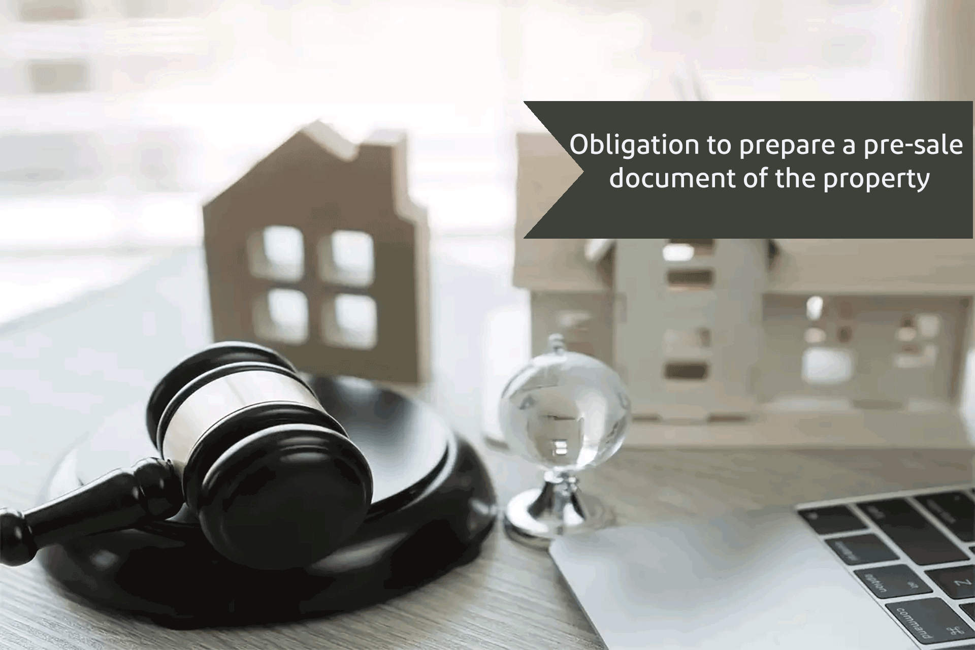 Obligation to prepare a pre sale document of the property