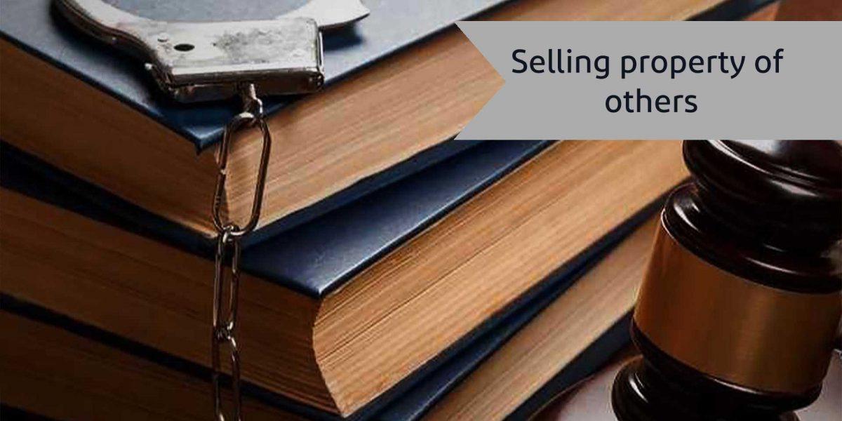 Selling property of others-alemohamadlaw