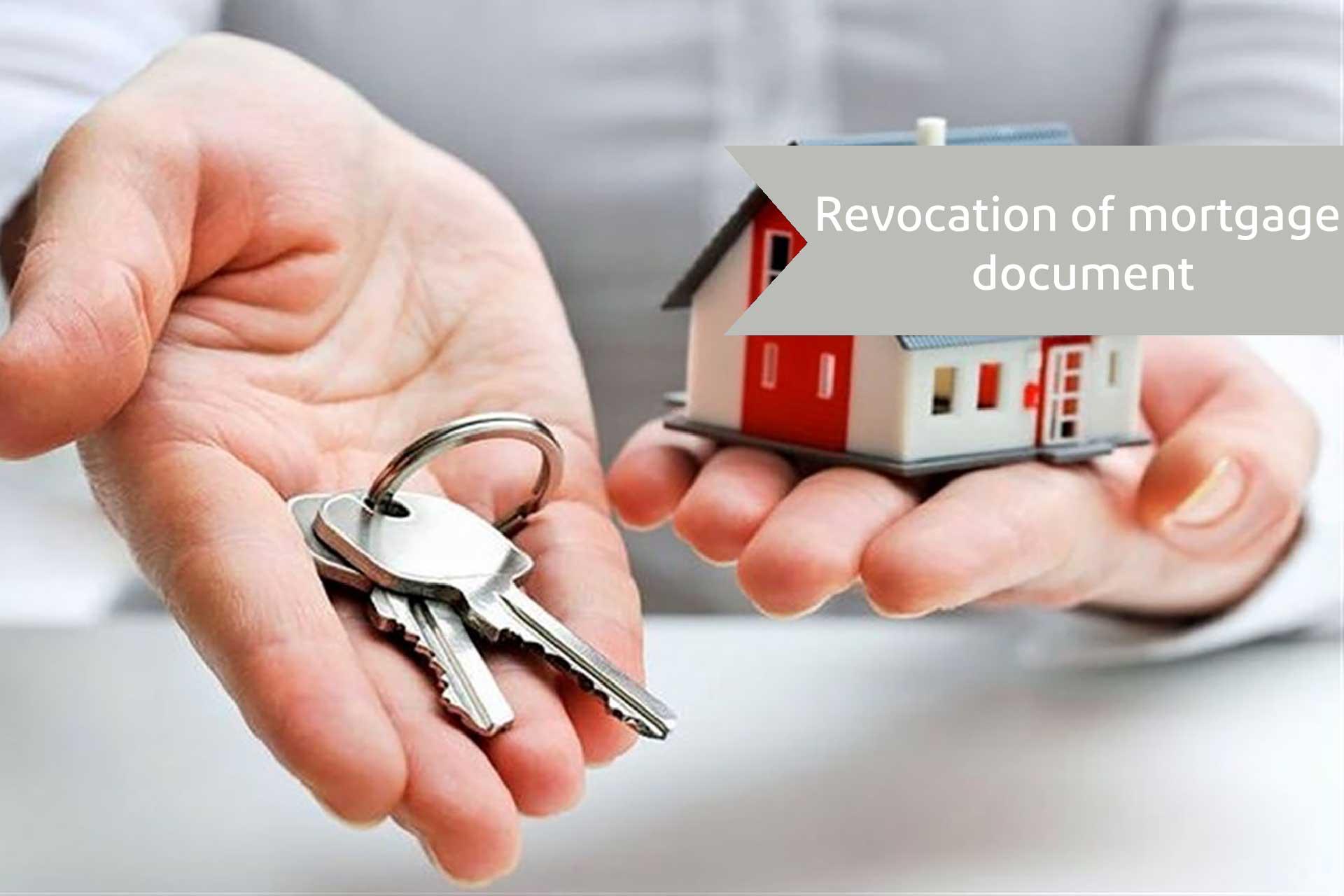Revocation of mortgage document-alemohamad